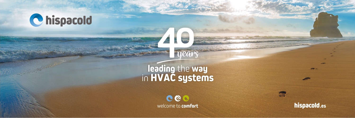 40 years leading the way in HVAC sistems